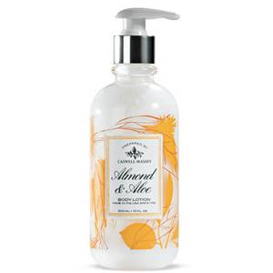 Caswell-Massey® Almond and Aloe Hand & Body Emulsion with Silk