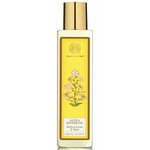 Forest Essentials Luxurious Ayurveda Moisture Replenishing Bath & Shower Oil - Madurai Jasmine & Mogra