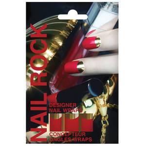 Nail Rock Nail Wraps - Red