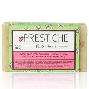 Prestiche Rosechella Essential Oil Bar Soap