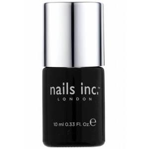 nails inc. 45 Second Top Coat with Kensington Caviar