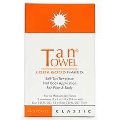 TanTowel Inc. Half Body Classic