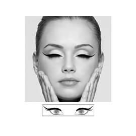 MARBELLA Eye-liner en patch Hollywood