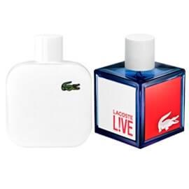 Lacoste Live et Lacoste L12.12 Blanc