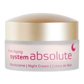 ANNEMARIE BÖRLIND System absolute - crème de nuit anti-âge