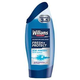 Williams Gel Douche 3 en 1 Fresh and Protect Ice Fresh