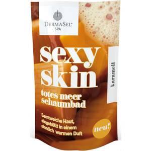 DermaSel sexy skin Totes Meer Schaumbad KARAMELL