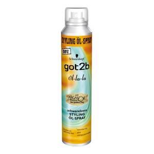 Schwarzkopf got2b öl-la-la schwereloses Styling Öl-Spray