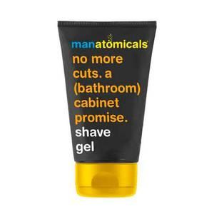 Anatomicals Manatomicals no more cuts. a (bathroom) cabinet promise. shave gel