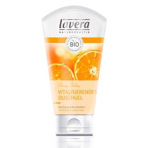 Lavera NATURKOSMETIK Orange Feeling – Vitalisierendes Duschgel