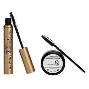 NutraluxeMD Lash Powder WIMPERN-FLOCKER & Hyaluron-Mascara Set