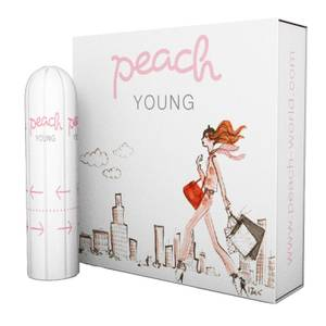 Peach World Peach Young Tampons-to-go