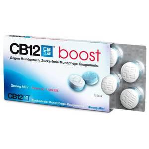 CB12 Strong Mint - Zuckerfreier Mundpflege-Kaugummi mit schnellem Frische-Effekt