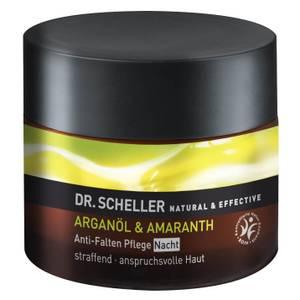 DR. SCHELLER NATURAL & EFFECTIVE ARGANÖL & AMARANTH Anti-Falten Pflege Nacht