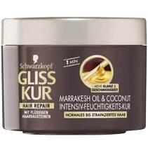 Schwarzkopf GLISS KUR Marrakesh Oil & Coconut Intensiv-Feuchtigkeits-Kur