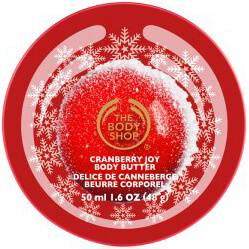 The Body Shop Frosted Cranberry Mini Body Butter
