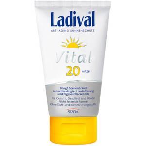 Ladival Vital Anti Aging Sonnenschutz Creme LSF 20