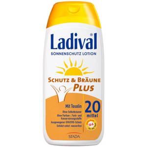 Ladival Schutz & Bräune Plus Sonnenschutz Lotion LSF 20