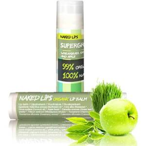 Naked Lips Organic Lip Balm Supergreens