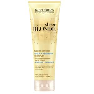 John Frieda Sheer Blonde Highlight Activating Repair + Hydration Shampoo