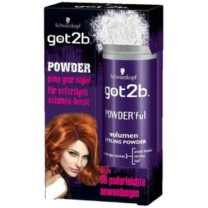 Schwarzkopf got2b POWDER'ful Volumen Styling-Powder