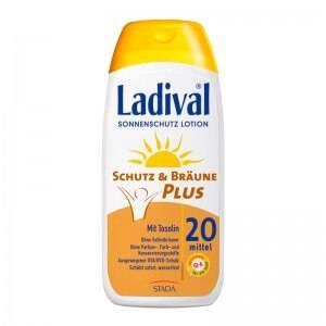 Ladival Schutz & Bräune Plus Sonnenschutz Lotion LSF 20 bzw. 30
