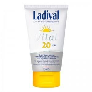 Ladival Vital Anti Aging Sonnenschutz Creme LSF 20 bzw. 30