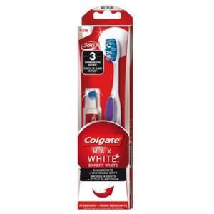 Colgate Max White Expert White Zahnbürste mit Whitening-Stift