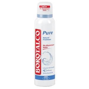 Borotalco Pure Natural Freshness Deodorant - ohne Aluminiumsalze