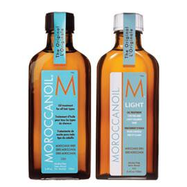 Moroccanoil Original Oil Treatment & Light Oil Treatment
