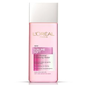 L'Oréal Paris Sublime Soft Pure Micellar Cleansing Water