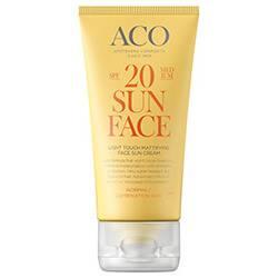 ACO Light Touch Mattifying Sun Cream SPF 20