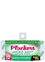 Plackers Micro Mint Travel Case