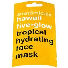 Anatomicals Hawaii High Five Glow Face Mask