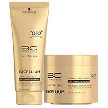 Schwarzkopf Professional BC Excellium Taming Shampoo + Taming Treatment