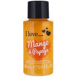 I Love... Bubble Bath & Shower Mango & Papaya