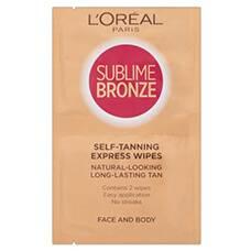 L'Oréal Paris Sublime Bronze Double Wipes