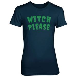 Witch Please Women's Navy T-Shirt