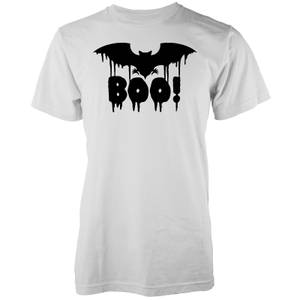 Boo Men's White T-Shirt