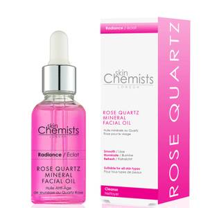 skinChemists London Rose Quartz Mineral Facial Oil 30ml
