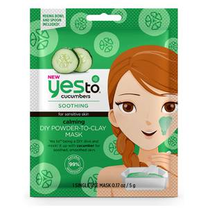 yes to Cucumbers Calming DIY Powder-to-Clay Mask 5g