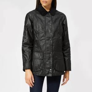 Barbour Women's Beadnell Wax Jacket - Black