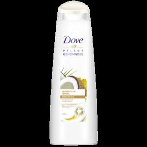 Dove Pflegegeheimnisse Reparatur Ritual Shampoo mit Kokosduft und Kurkuma