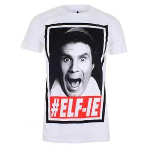 Elf Men's Christmas #ELF-IE T-Shirt - White