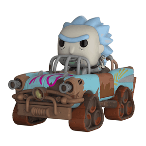 Figura Pop! Vinyl Rides Rick Mad Max - Rick y Morty