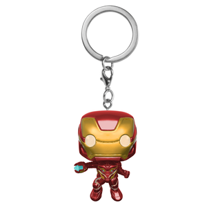Marvel Avengers Infinity War Iron Man Pop! Vinyl Portachiavi