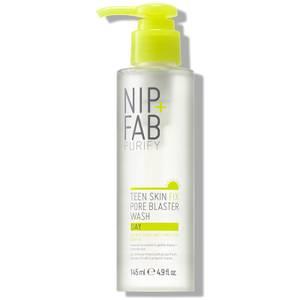NIP+FAB Teen Skin Fix Pore Blaster Day Wash płyn do mycia twarzy na dzień 145 ml