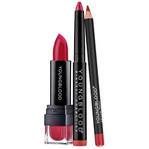 Youngblood Lip Trio - Rodeo Red