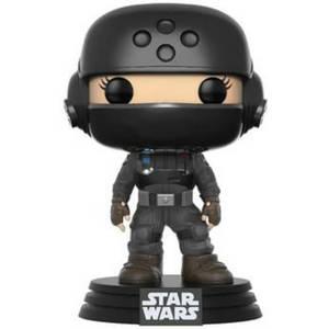 Star Wars: Rogue One Jyn Disguise w/Helmet NYCC 2017 EXC Pop! Vinyl Figure