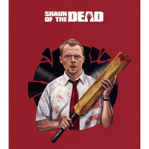 Shaun of the Dead Record Breaking Limited Edition Art Print